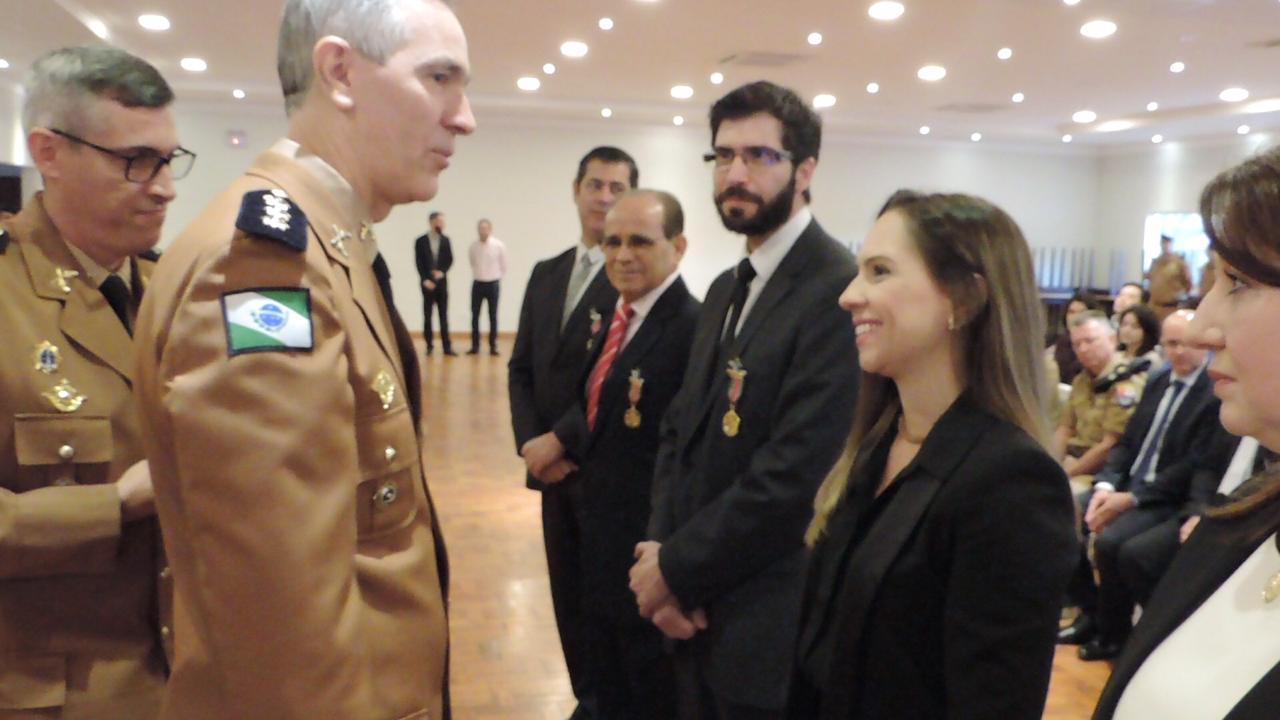 Magistrados paranaenses são agraciados com a honraria