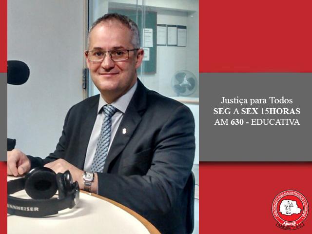 Comissão de Direitos Humanos da OAB-PR é tema do Justiça para Todos