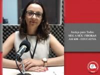 Promotora fala sobre saúde pública no Justiça para Todos