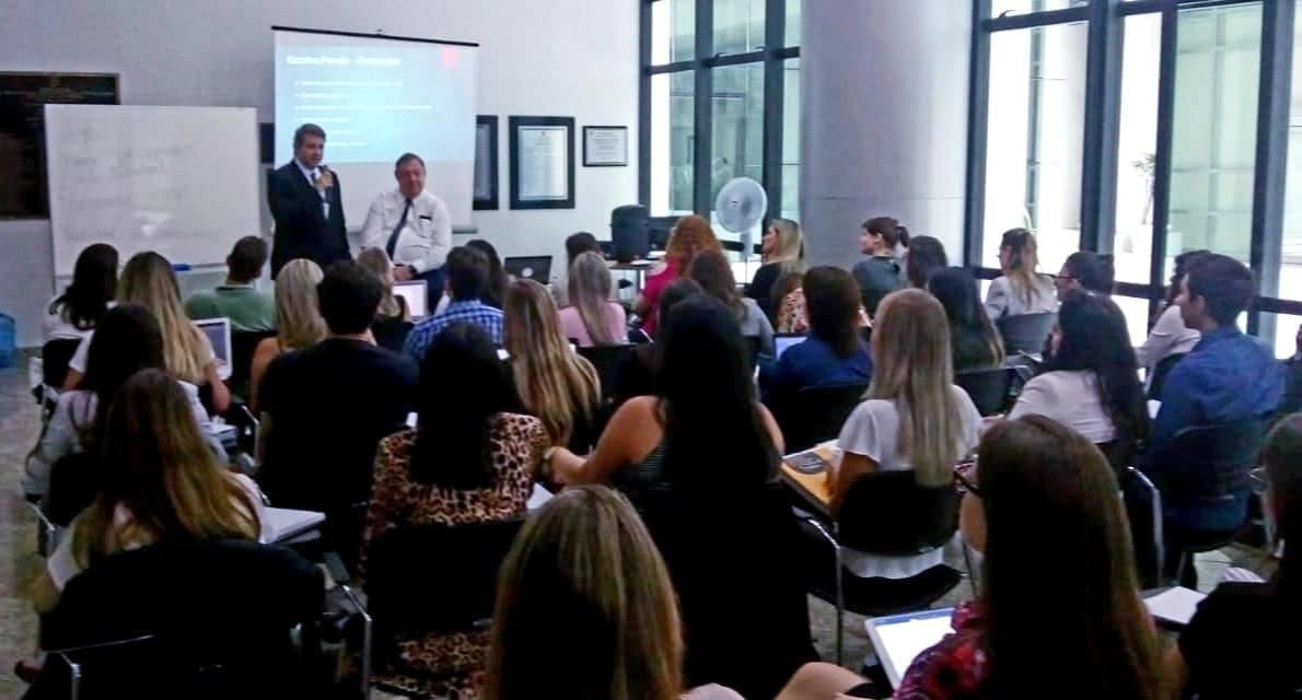 AMAPAR dá boas vindas aos cursistas de Pós Graduação em Direito Aplicado da Escola da Magistratura do Paraná