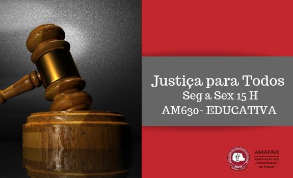Juiz Sidnei Dal Moro conversou com o Justiça para Todos sobre direitos fundamentais, humanos e cidadania
