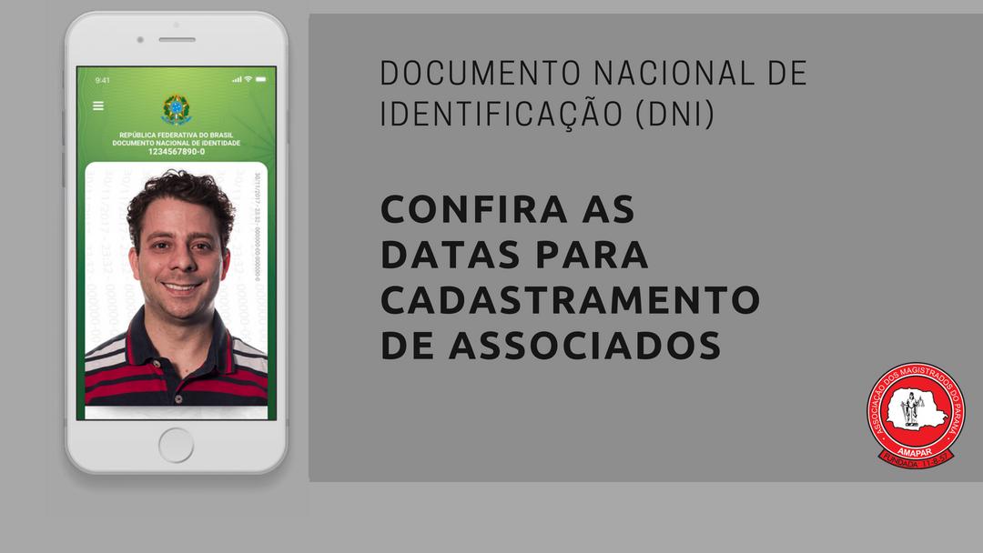 AMAPAR e TRE-PR definem datas para associados obterem o Documento Nacional de Identidade