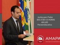 juiz Alberto Moreira Cortes Neto fala sobre o Programa Semana  Nacional Justiça pela Paz em Casa e seus objetivos
