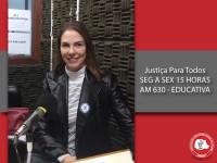 Eliana Tavares Paes Lopes fala sobre os direito das mulheres