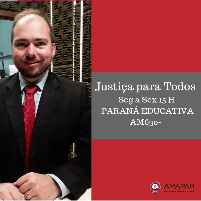 Juiz Felipe Forte Cobo fala sobre o trabalho desenvolvido pelo Fórum Descentralizado da CIC