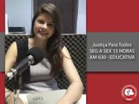 Justiça Para Todos traz informações sobre crimes contra a honra e imunidade parlamentar