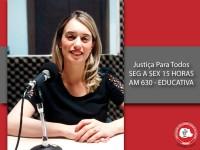 Justiça para Todos traz esclarecimentos sobre os direitos das mulheres