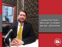 Delitos cometidos por desconhecimento da legislação foi  tema debatido no Justiça para Todos