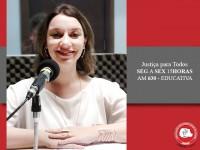 Magistrada fala sobre projeto de trânsito no Justiça para Todos