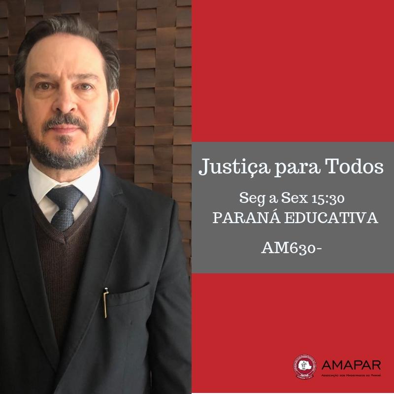 Magistrado José Roberto Silvério fala sobre o apoio do Tribunal de Justiça no combate à violência doméstica