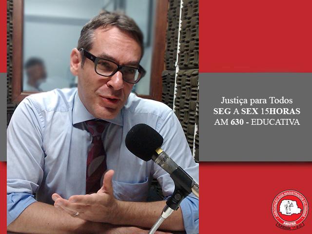Presidente da Comissão da Advocacia Criminal da OAB-PR participa do Justiça para Todos