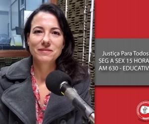 Juíza Luciana da Veiga Oliveira esclarece questões relacionadas ao direito a saúde