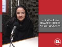 Mariana Michelotto conversa com o Justiça para Todos sobre os crimes contra a honra
