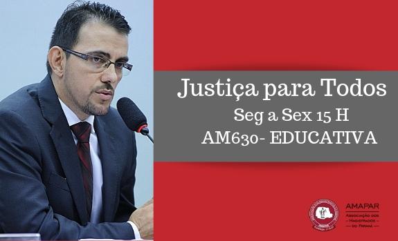 Juiz fala sobre proposta de reforma da previdência no Justiça para Todos