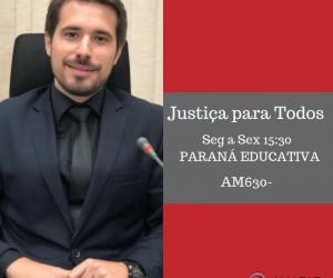 Juíz Matheus Pereira Franco fala sobre ações da Semana Nacional Pela Paz em Casa na cidade de Guaíra
