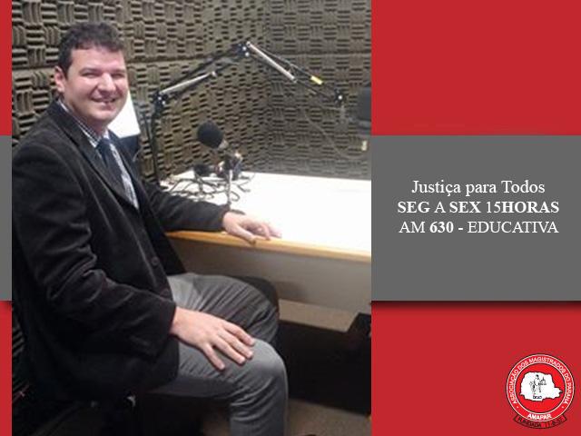 Advogado fala sobre Direito Tributário no Justiça para Todos