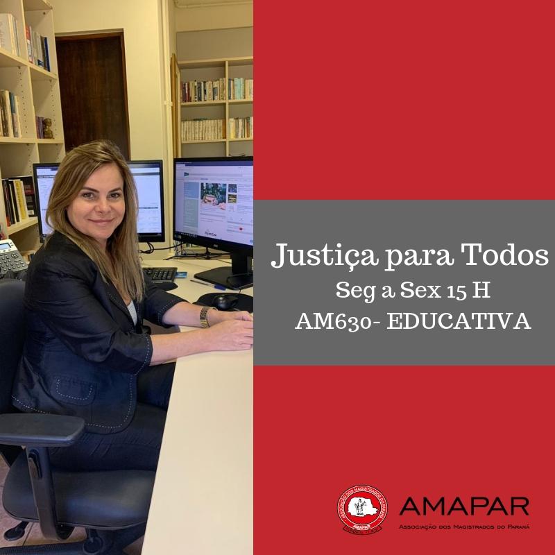 Juíza Mônica Fleith conversa com o Justiça para Todos sobre as penas previstas para os crimes que envolvem violência doméstica
