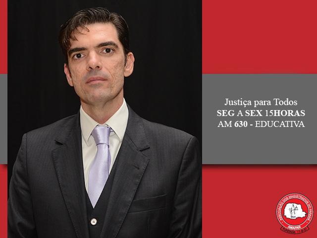 """Juiz Nicola Frascati Junior fala sobre seu livro """"Ética e Acesso à Justiça à Luz dos Direitos da Personalidade"""""""