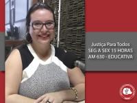 Participação das mulheres na política é tema do Justiça Para Todos