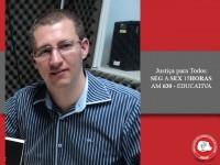 Juiz Tiago Gagliano fala sobre provas judiciais no programa de rádio da AMAPAR