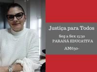 Juíza  Vanessa Jamus Marchi  fala sobre Centro Judiciário de Solução de Conflitos e Cidadania  de 1º Grau do TJPR