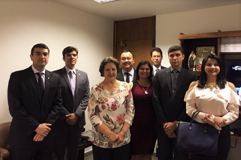 AMAPAR e AMB vão ao Senado e ressaltam a necessidade de maior discussão sobre o PL do abuso de autoridade e alterações na Lei de Execução Penal