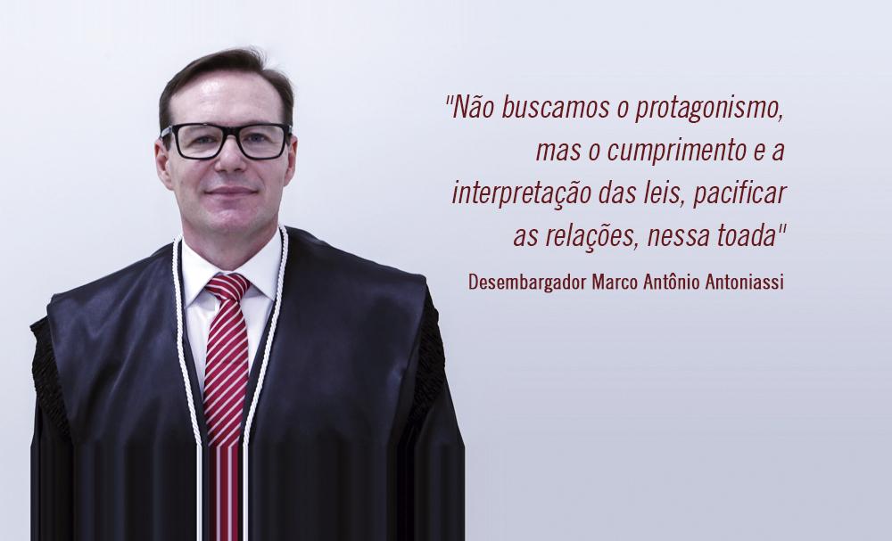 Desembargador Marco Antoniassi fala à AMAPAR sobre eleições no TJ-PR e protagonismo do Judiciário