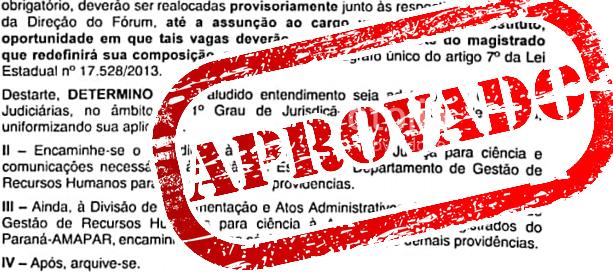 TJ acolhe requerimento da AMAPAR para a contratação de equipe de Juiz Substituto cujo cargo esteja provisoriamente vago