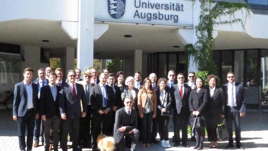 Magistrados finalizam a participação no curso com foco à Criminologia, Direito Penal e Processo Penal na Universidade de Augsburg (Alemanha)