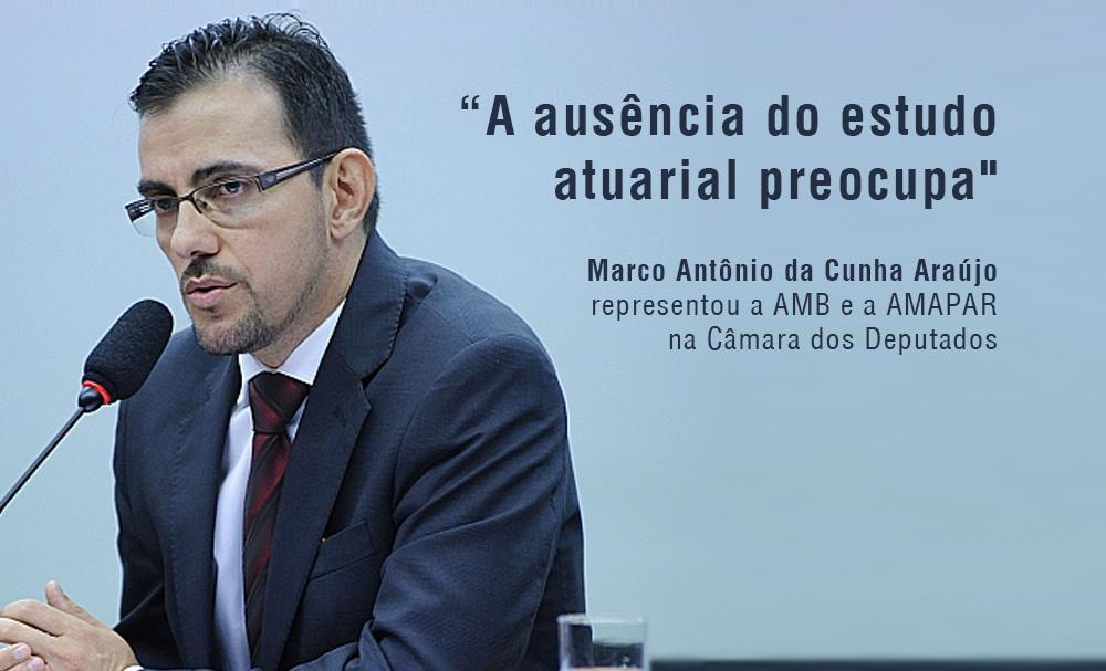 AMB cobra apresentação de dados oficiais detalhados da Previdência na Comissão Especial da PEC 287