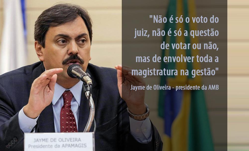 ENTREVISTA - Presidente da AMB reaviva a necessidade de eleições diretas nos tribunais