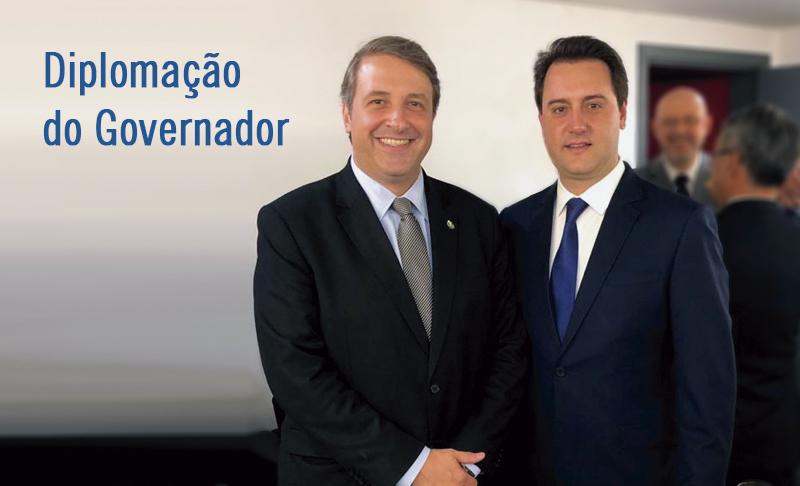 AMAPAR participa da diplomação do governador eleito do Paraná