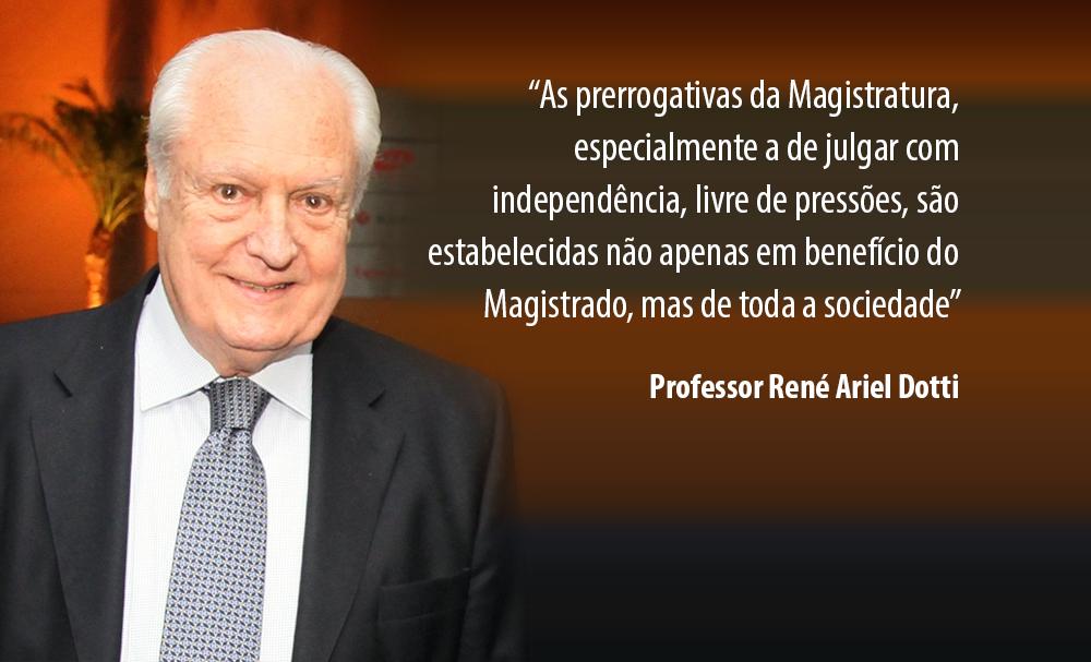 Parceria entre AMAPAR e escritório René Dotti tem apresentado êxitos na defesa das prerrogativas da magistratura