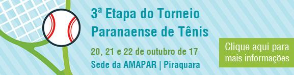 3ª Etapa do Torneio Paranaense de Tênis | Piraquara