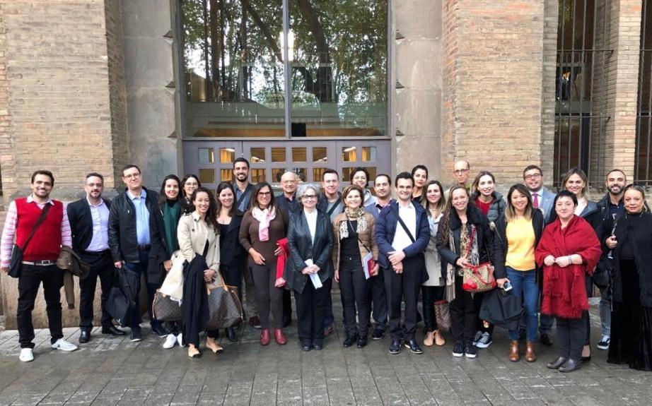 Associados da AMAPAR destacam oportunidade de participar de curso na Escola Judicial Espanhola com sede em Barcelona