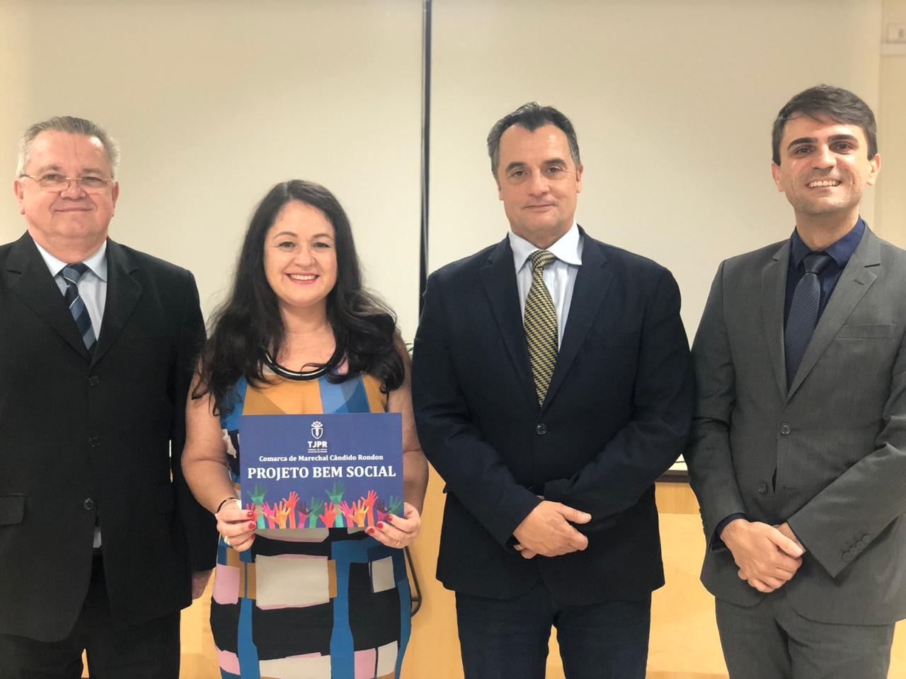 Juíza Berenice Nassar apresenta o projeto Bem Social em Marechal Cândido Rondon