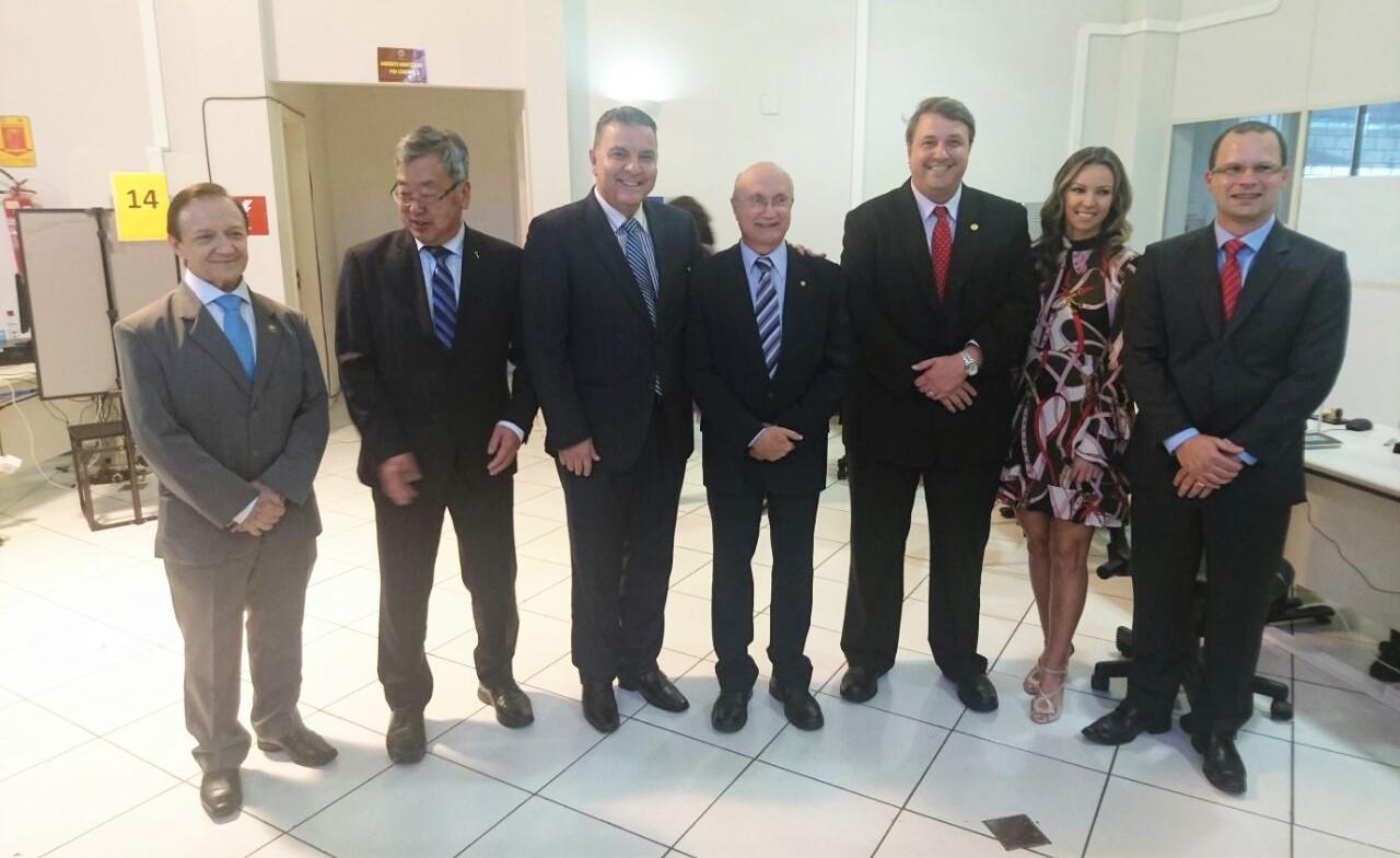 Com a presença do ministro da Justiça e da diretoria da AMAPAR, TRE-PR lança em Umuarama o projeto Biometria 2017