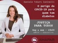 O perigo da COVID-19 para quem tem diabetes