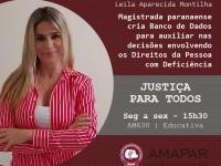Magistrada paranaense cria Banco de Dados para auxiliar nas decisões envolvendo os Direitos da Pessoa com Deficiência