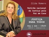 Mutirão nacional da Justiça pela Paz em Casa