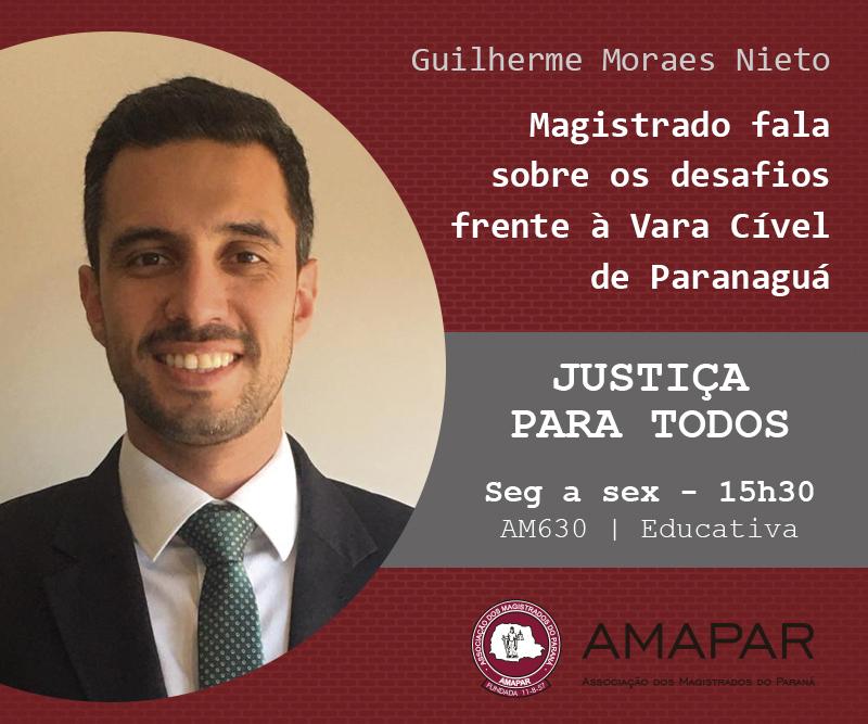 Magistrado fala sobre os desafios frente à Vara Cível de Paranaguá