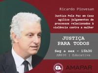 Justiça Pela Paz em Casa agiliza julgamentos de processos relacionados à violência contra a mulher