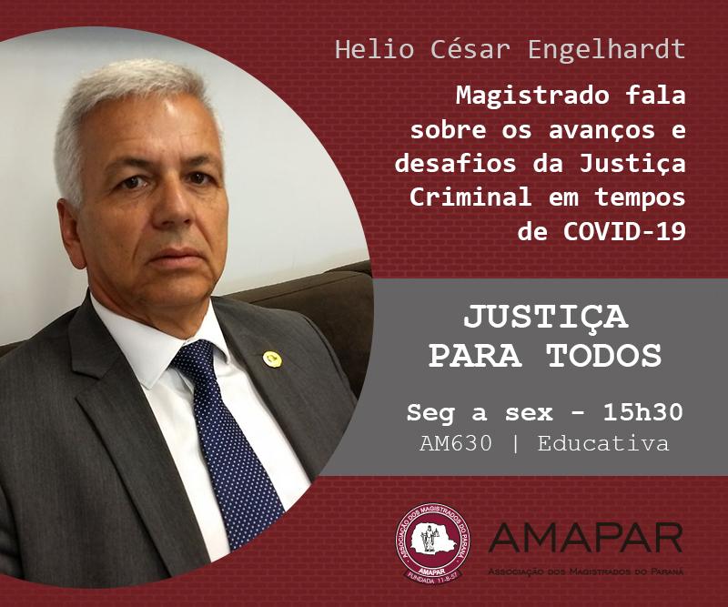 Magistrado fala sobre os avanços e desafios da Justiça Criminal em tempos de COVID-19
