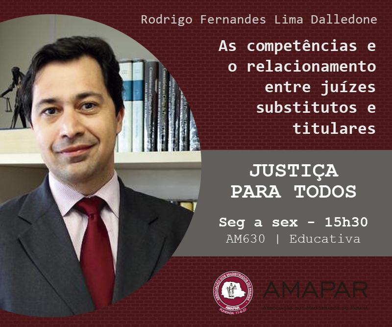 As competências e o relacionamento entre juízes substitutos e titulares