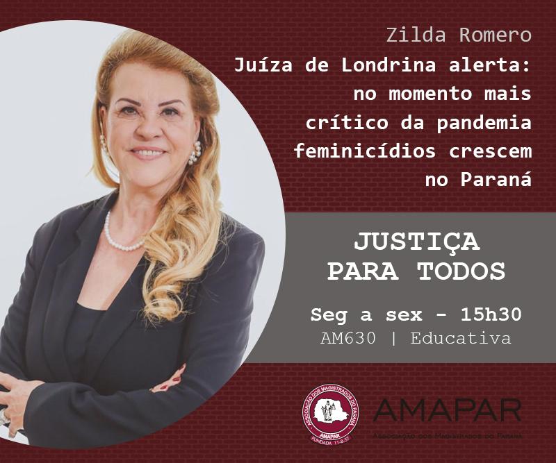 Juíza de Londrina alerta: no momento mais crítico da pandemia feminicídios crescem no Paraná