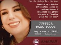 """Comarca de Londrina intensifica ações de enfrentamento à violência de gênero durante a """"Justiça pela Paz em Casa"""""""