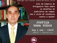 Juiz da Comarca de Ortigueira fala sobre os desafios do judiciário em romper com o ciclo de violência contra a mulher