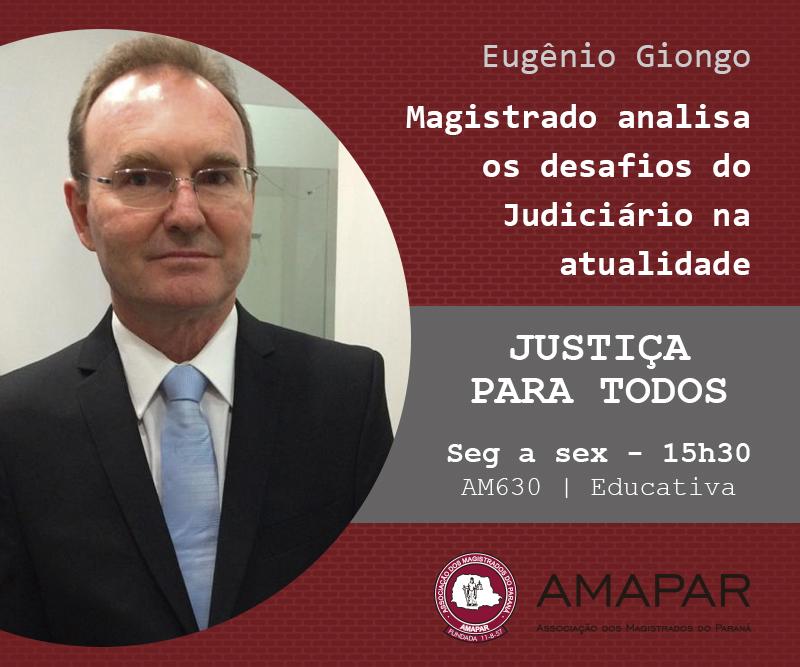 Magistrado analisa os desafios do Judiciário na atualidade