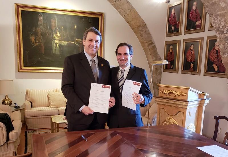 AMAPAR assina protocolos de cooperação com organizações jurídicas de Coimbra (Portugal)