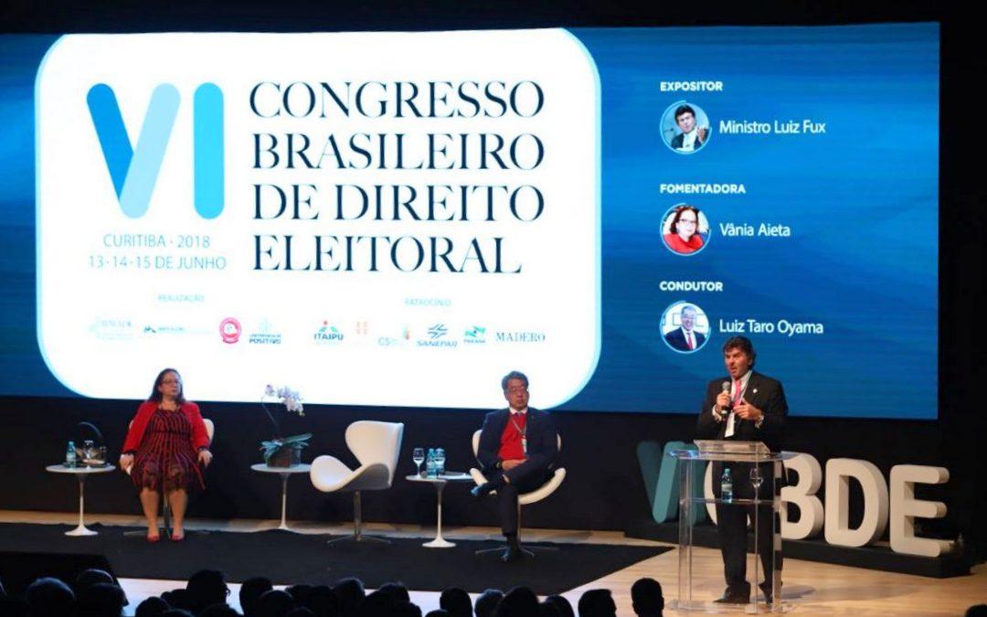 Magistrados comentam à AMAPAR a importância dos debates durante o Congresso Brasileiro de Direito Eleitoral